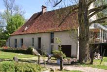 Vue du Moulin de Saint Georges, gite de charme en Bourgogne